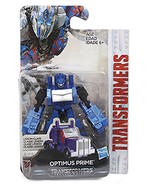 Transformers The Last Knight Optimus Prime Figure Blue - 7 Cm