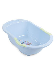 Baby Printed Bath Tub - Blue Green