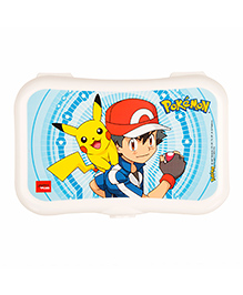 Jaypee Lunch Box Pokemon Print - White Blue