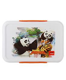 Jaypee Lunch Box Kung-Fu-Panda Print - White Orange