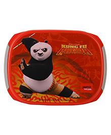 Jaypee Kung Fu Panda Print My Box Lunch Box Red Grey - 720 Ml