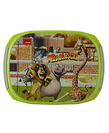 Jaypee Madagascar Print My Box Lunch Box Green Grey - 720 Ml