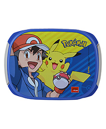 Jaypee Pokemon Print My Box Lunch Box Blue Grey - 720 Ml
