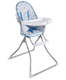 High Chair - Blue White