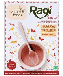 Wholesum Foods Ragi Satva - 200 gm