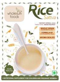 Wholesum Foods - Rice Sattva 200 Gm - 200 Gm
