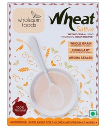 Wholesum Foods Wheat Sattva 200 Gm - 200 Gm