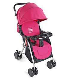 Mee Mee Stroller Cum Pram With Mosquito Net MM-30A - Pink