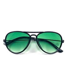 Kidofash Trendy Aviator Sunglasses - Green