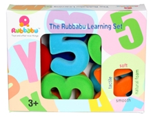 Rubbabu - Magnetic Numerals 4 Inch Large