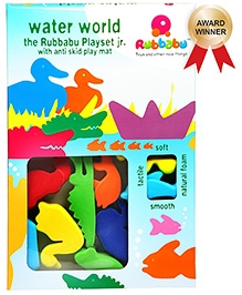 Rubbabu - Water World Playset - Multi Color