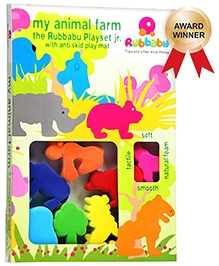 Rubbabu - My Animal Farm Playset