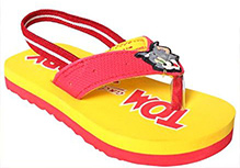 Tom And Jerry - Ankle Strap Flip Flops