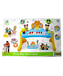 Disney Baby Music Center - Yellow Blue