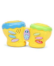 Multifunctional Pat Drum Toy - Yellow