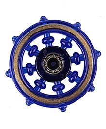 Emob Fingertip Scopperil Copper Rim Fidget Hand Spinner With High Precision Stainless Steel Bearing - Blue