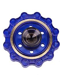 Emob Scopperil Fingertip Copper Rim Fidget Hand Spinner With High Precision Stainless Steel Bearing - Blue
