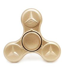 Emob Fully Metal Turbo Speed Fidget Hand Spinner Toy - Golden