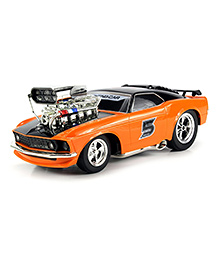 Saffire Ford Mustang Boss 429 Remote Control RC Muscle Car - Orange