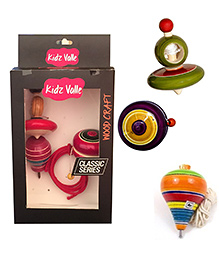 Kidz Valle Assorted Toys Pack Of 3 - Multicolor