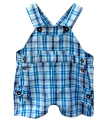 Beebay - Dungaree Checkers Multi Pocket