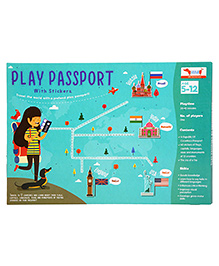 Traveller Kids Play Passport Kit