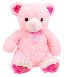 Liviya Sitting Teddy Bear Soft Toy Pink - 45.5 Cm
