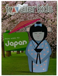 Traveller Kids Atlas Goes to Japan Book
