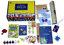 Traveller Kids Combo Pack of Atlas Goes to Japan and World Traveller Starter kit
