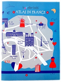 Traveller Kids Atlas Goes to France Folder and Posters
