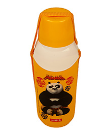 Kung Fu Panda Carry Cool Water Bottle Orange - 600 Ml