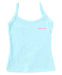 Hello Kitty Singlet Slips With Print - Light Blue