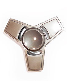 Emob Fidget Tri Hand Spinner Toy - Grey