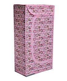 Magic Pitara Starlet Toy Box Folding Cabinet - Pink