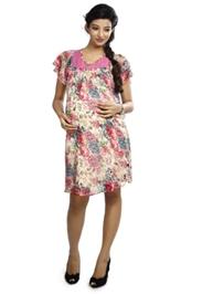 Nine - Maternity Floral Print Dress