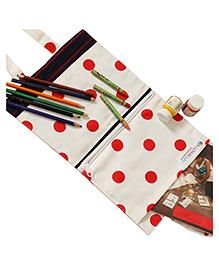 Kadam Baby Art Kit Clown Applique - White Red