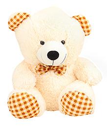 Play Toons Teddy Bear Soft Toy Cream - Height 55.88 Cm