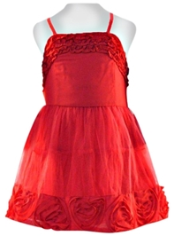 Nauti Nati - Singlet Party Dress With Frills At The Neck