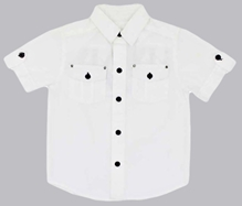 Shopper Tree -  Short Sleeves White Shirt