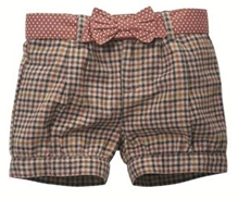 Shopper Tree - Grey Checkered Casual Shorts