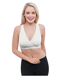 Medela Maternity And Nursing Sleep Bra - White