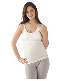 Medela Maternity And Nursing Tank Top - White