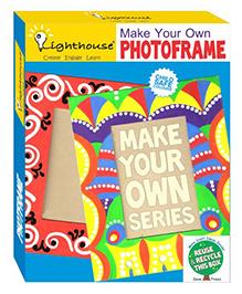 Lighthouse Make Your Own Photo Frame DIY Kit - Multi Color