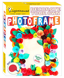 Lighthouse Make Your Own New Photo Frame Quilling DIY Kit - Multi Color