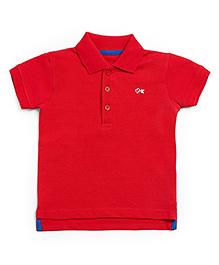 FS Mini Klub Half Sleeves Polo T-Shirt - Red