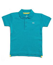 FS Mini Klub Half Sleeves Polo T-Shirt - Sea Green