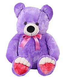 Liviya Teddy Bear Soft Toy Purple - Height 76 Cm