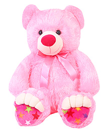 Liviya Teddy Bear Soft Toy Pink - Height 77 Cm