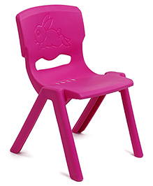 Baby Chair Rabbit Design - Pink