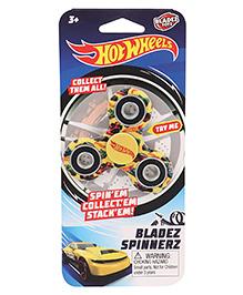 Hot Wheels Bladez Fidget Spinnerz - Yellow